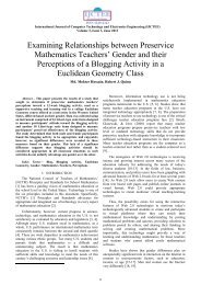 Examining Relationships between Preservice Mathematics Teachers