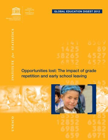 Opportunities lost - Institut de statistique de l'Unesco