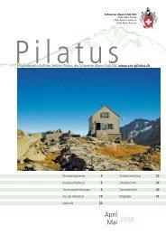 Mitgliederzeitschrift der Sektion Pilatus des Schweizer Alpen-Club