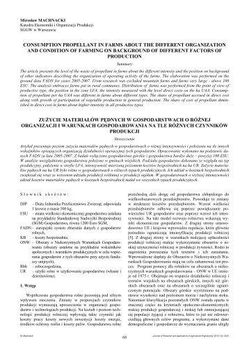Mirosław MACHNACKI - Przemysłowy Instytut Maszyn Rolniczych w ...