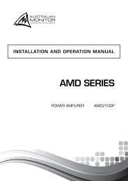 AMD2100P - SDS Music Factory AG