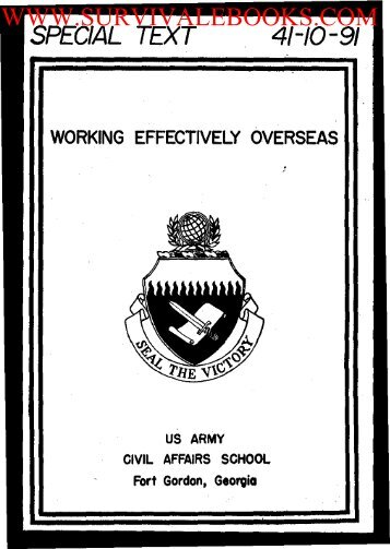 2005 US Army Working Effectively Overseas 294p.pdf - Survival Books