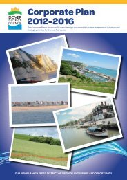 Corporate Plan 2012-2016 - Dover District Council