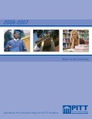 Annual Report - Pitt Community College