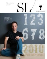 SL magazine - Autumn 2010 - State Library of New South Wales ...