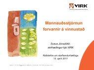 Mannauðsstjórnun forvarnir á vinnustað