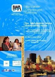 The Metropolitan Water Sustainability Forum.pdf - ICLEI Local ...