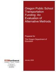 Oregon Public School Transportation Funding - The Chalkboard ...