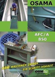 AFC/A 850 - OBMtec BV