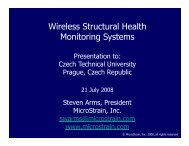 Wireless Structural Health Wireless Structural Health Monitoring ...