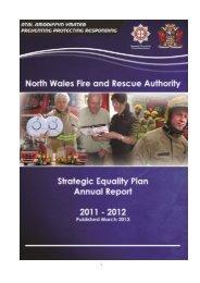 Strategic Equalities Plan Annual Report 2011 - 2012