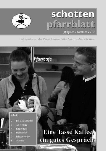 Ausgabe Nr. 43, Pfingsten 2013 - Schottenpfarre