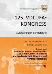 Alter - Verband Deutscher Landwirtschaftlicher Untersuchungs