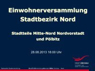 Präsentation zur Einwohnerversammlung (*.pdf ... - Stadt Zwickau