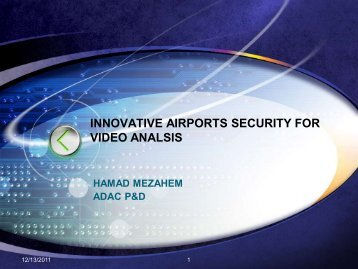 video analytic - Emerging Markets Airports Awards