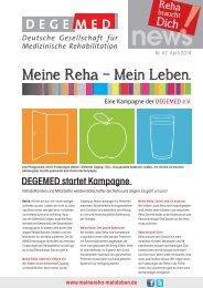 DEGEMED News 47 April 2014