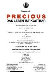 Precious Presseheft - Steinhaus Bautzen