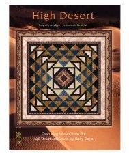 High Desert - Plum Creek Quilts