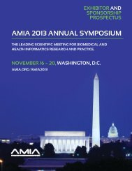 View The Exhibitor and Sponsorship Prospectus - American Medical ...