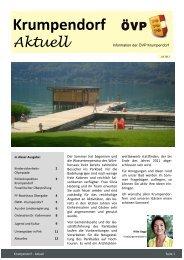 Krumpendorf - AKTUELL - ÖVP Kärnten