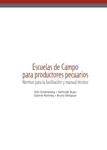 Escuela de campo para productores pecuarios