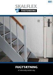 Læs mere om indvendig fugttætning af kældervæg - Skalflex