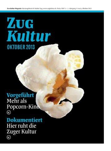 OktOber 2013 Vorgeführt Mehr als Popcorn-Kino Dokumentiert Hier ...