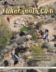 April 2013 White Tanks Hike April 19 Fitness Center - LukeEvents.com