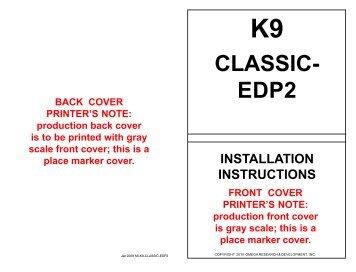 k9-classic-edp2 - car alarm