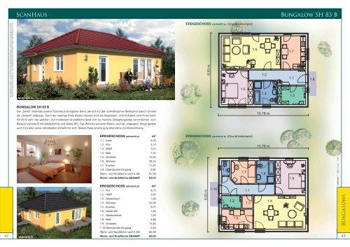 scanhaus bungalow sh 83 b. Black Bedroom Furniture Sets. Home Design Ideas