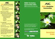 Second-hand Smoke - ASC - English.doc - Asian Health Services