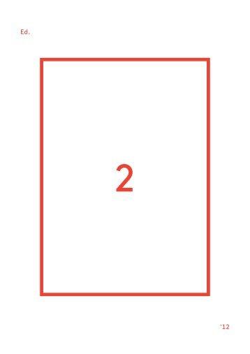 Edition Nr. 2 [PDF] - Berliner Festspiele