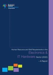 Skill Gap Analysis Report for Electronics and IT hardware Industry ...
