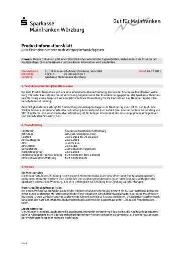 produktinformationsblatt sparkasse h xter. Black Bedroom Furniture Sets. Home Design Ideas