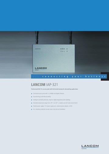 LANCOM IAP-321 - LANCOM Systems