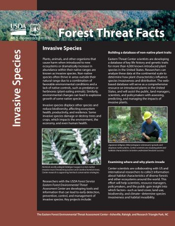 Invasive Species - Eastern Forest Environmental Threat Assessment ...