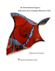 An International Legacy: Selections from Carnegie Museum of Art