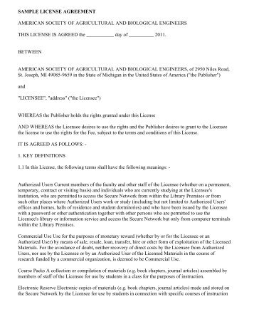 Mural License Agreement This Agreement Is Made And
