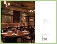 trio cover - Newport Restaurant Group