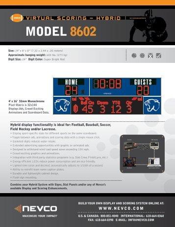 MODEL 8602 - Nevco