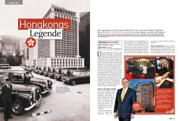 Hongkongs Legende - Reisen Travel - Tele