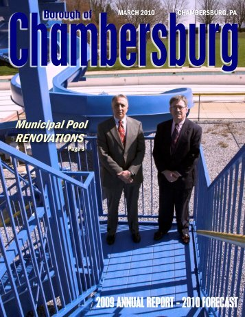 Boro Report - Borough Of Chambersburg