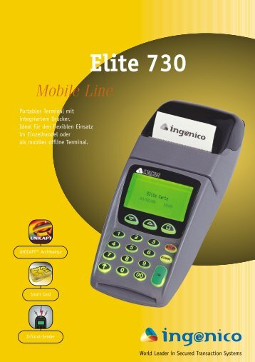 Elite 730 - POS-Cash
