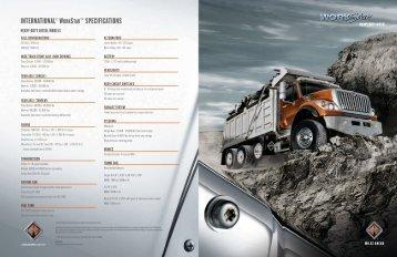 WorkStar 7000 Series - Brattain International Trucks