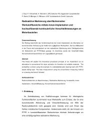 T+S Beitrag 7Be-Implantation