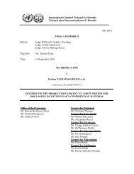 DECISION ON THE PROSECUTION URGENT EX- PARTE MOTION ...