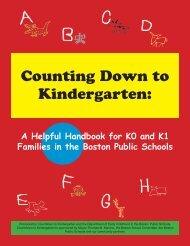 Kindergarten Handbook - Countdown to Kindergarten