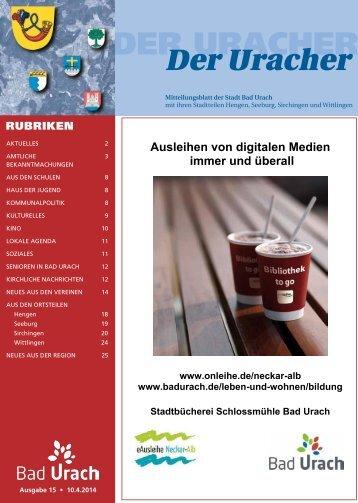Der Uracher KW 15-2014