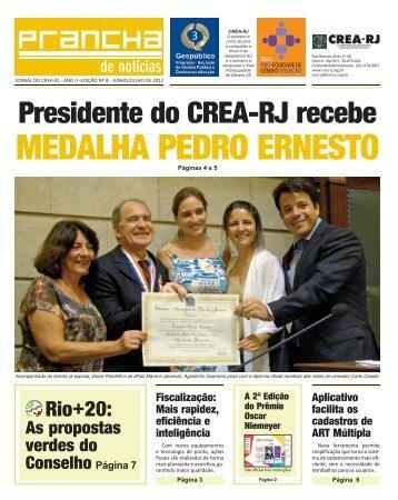 MEDALHA PEDRO ERNESTO - Crea-RJ