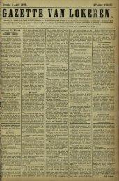Zondag 1 April 1888. 45» Jaar N° 2327. e Zwarte Bedelaar
